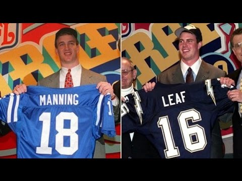 On This Day: 1998 NFL Draft - Ryan Leaf or Peyton Manning?