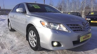 2011 Toyota Camry.  Start Up, Engine, and In Depth Tour.