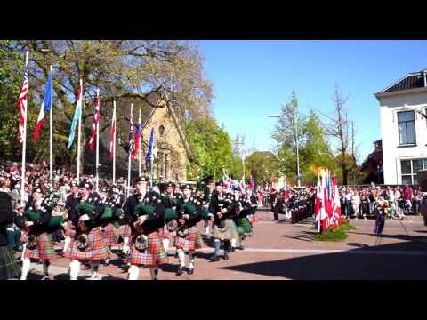 Travel clips 1080p60 - Liberation Day (Bevrijdingsdag) in Netherlands / May 5 2016 Wageningen