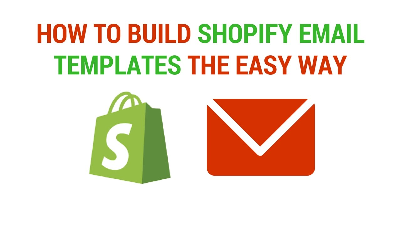 How To Create Shopify Email Templates The EASY Way - YouTube