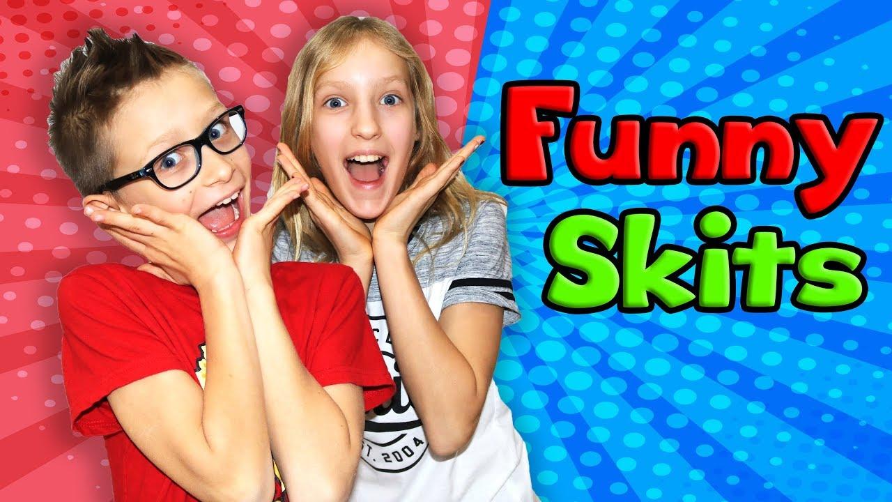 Sis Vs Bro All Funny Skits In One Video Youtube