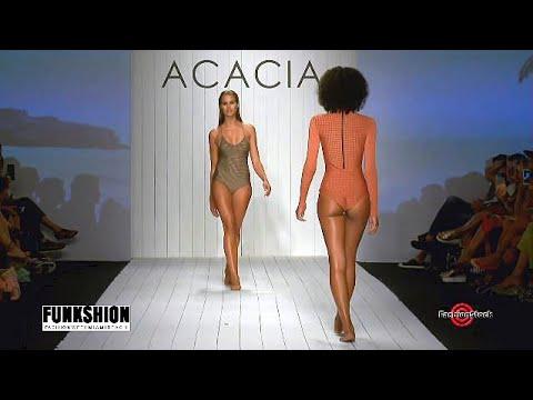 Acasia  Swimwear 2016 - Miami Swim Fashion Week  - 4 cameras edit full show bikinis