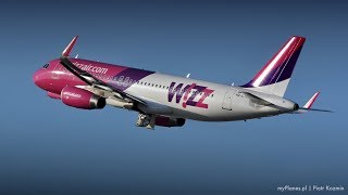 P3D4.4 WIZZ AIR EPWA - EDDK I  A320 Professional Part 2