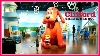 CLIFFORD The Big Red Dog Exhibit At The Kid's Museum