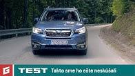 SUBARU FORESTER 2,0i BOXER - SUV TEST - Rodinné auto? - GARAZ.TV