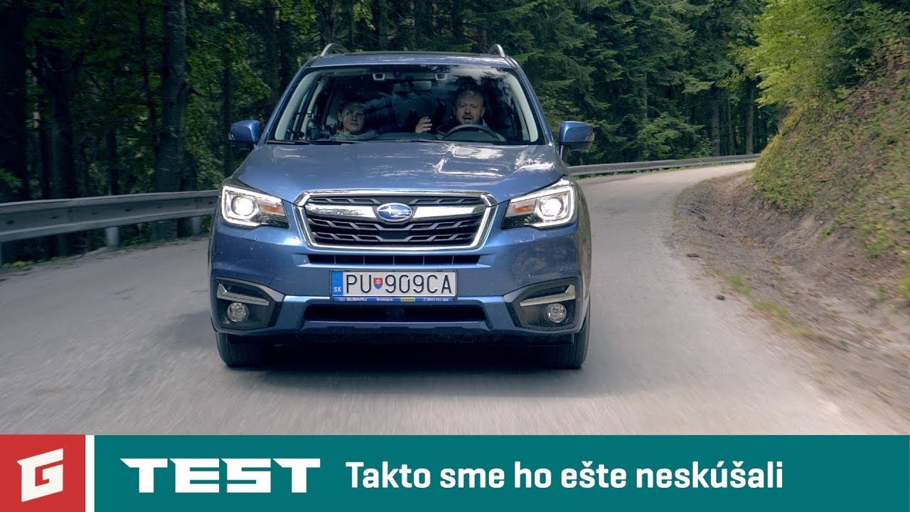 SUBARU FORESTER 2,0i BOXER - SUV TEST - Rodinné auto? - GARAZ.TV - YouTube