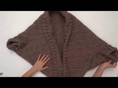 How to Crochet a Chunky Sweater by BrennaAnnHandmade, FREE Pattern in  collaboration with HobiumYarns