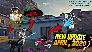 Freefire || New April , 2020 Update || why Game is Not Open || 100% Unseen Update  || Two Side Gamer