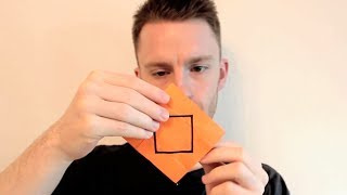 You've never seen Origami like this before...