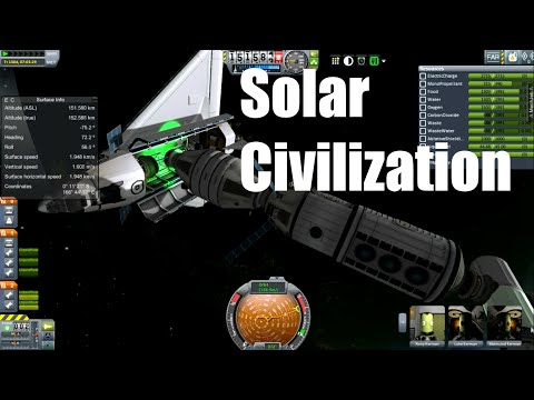 Solar Civilization #25, Station Keeping, Kerbal Space Program