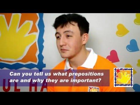 Teacher's interview Prepositions 01