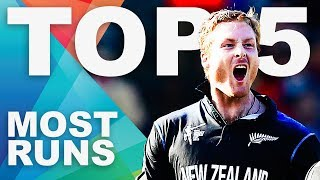 Most Runs at the 2015 World Cup? | ICC Cricket World Cup
