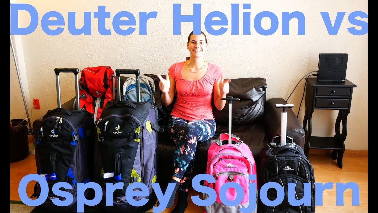 84b1a417f65c Deuter Helion vs Osprey Sojourn - What will we live out of for the next 9  mos