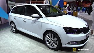 2015 Skoda Fabia Combi - Exterior and Interior Walkaround - Debut at 2014 Paris Auto show