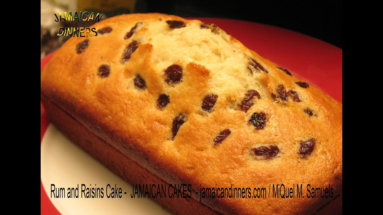 Cake Recipes In Pictures: RUM AND RAISINS CAKE Recipe