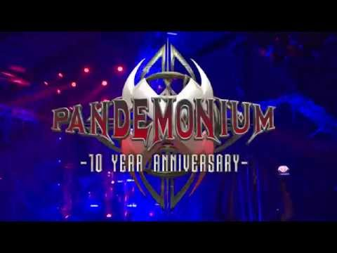 Aftermovie Pandemonium 10 Year Anniversary @ Sporthallen Zuid
