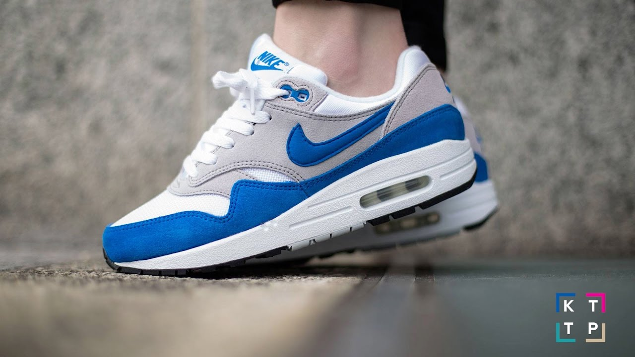 NIKE AIR MAX 1 ROYAL BLUE ANNIVERSARY Quick review + On Foot | Video