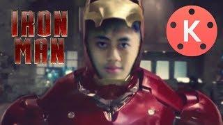 Tutorial Edit Berubah Menjadi Iron Man Di Kinemaster roid