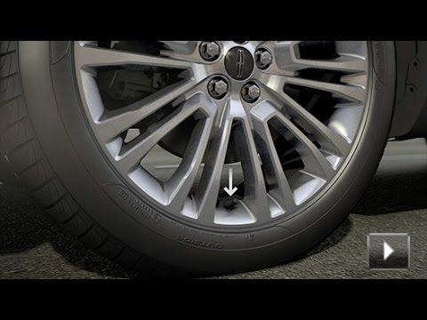 Individual Tire Pressure Monitoring System | Lincoln How-to Video
