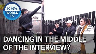 Dancing in the middle of the interview? Boss in the MirrorENG2020.02.02