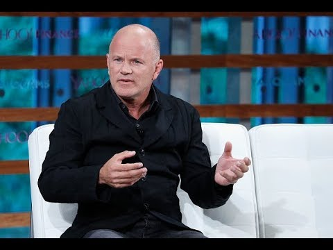 Former hedge fund manager Mike Novogratz discusses the future of cryptocurrency
