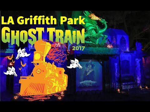 LA Griffith Park Ghost Train 2017 FULL RIDE