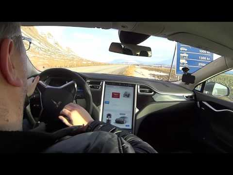 A Tesla Service Call In Iceland
