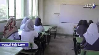 بالفيديو والصور..'فصول' بدون مدرسين أثناء زيارة الوزير لمدارس القليوبية