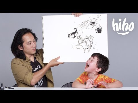 Kids Describe Their Fears to an Illustrator | Kids Describe | Cut