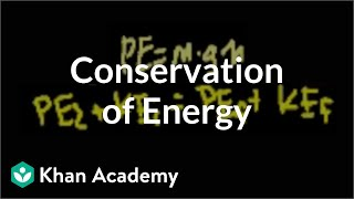 Conservation of energy   Work and energy   Physics   Khan Academy