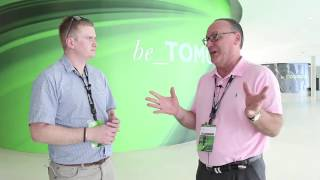 Interview with Gary Quinn of Falconstor at VMworld Barcelona 2016