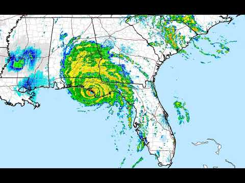 Hurricane Michael Makes Landfall Over Tyndall Air Force Base Here is Ken Gray with Update From The N
