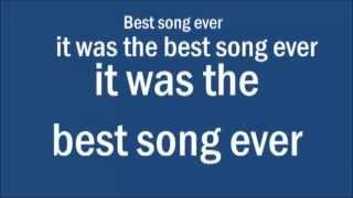 one direction -- best song ever hd - lyrics on screen - mp3 download link
