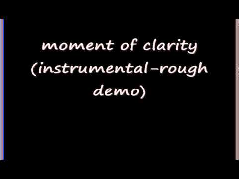 Jeremy Barker - moment of clarity (instrumental rough demo)