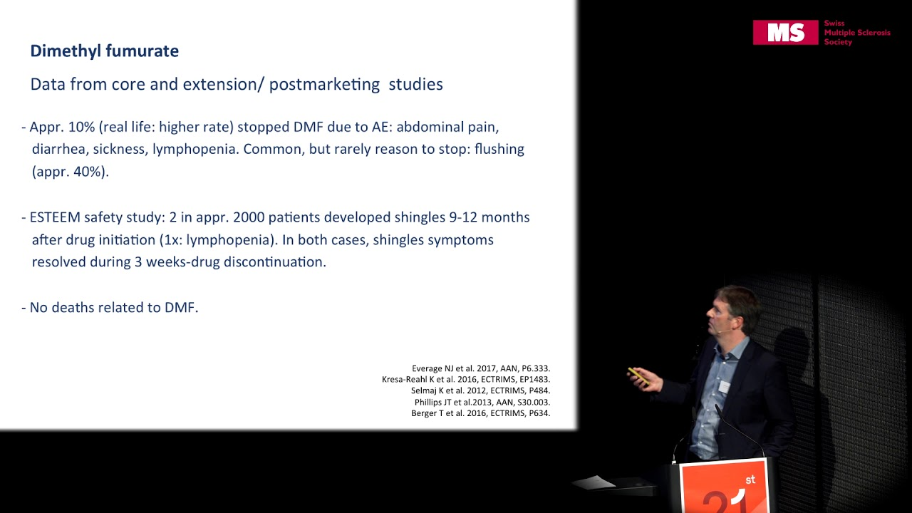 21st State of the Art Symposium – Michael Linnebank: Long Term Risks of MS Treatment