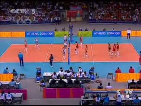 2004 Athens Olympic Games Volleyball Women Final China-Russia