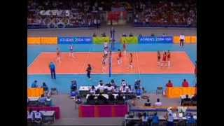 2004 athens olympic games volleyball women final china russia