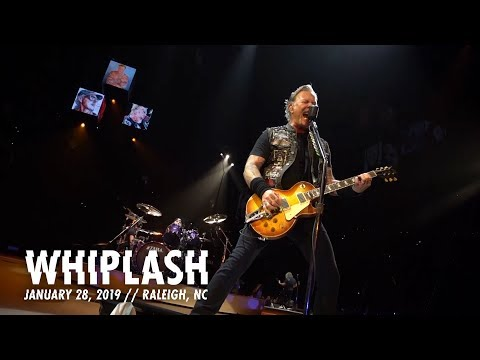 Metallica: Whiplash (Raleigh, NC - January 28, 2019)