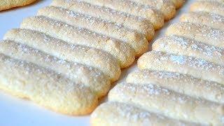 Recette du biscuit cuillère | Cartouchière pour charlotte