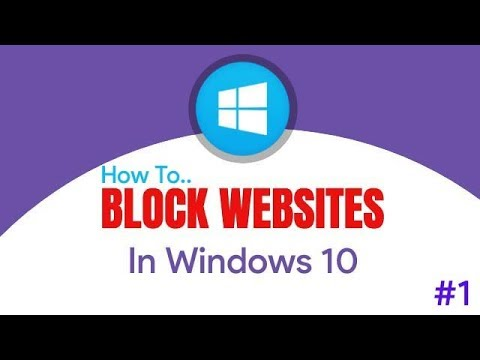 How To Block Websites In Windows 10 Without Any Software