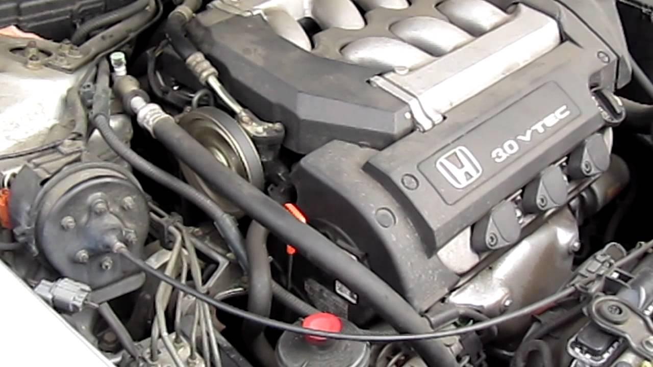Honda Accord V6 2001 Part 2 Youtube Belt Diagram
