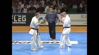 新極真会 The 9th World Karate Championship 4th Round3 Dimitrov Vs Balogh Shinkyokushinkai Karate