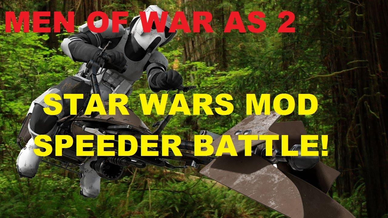 Men Of War Assault Squad 2 - Star Wars Mod ~ Speeder ...