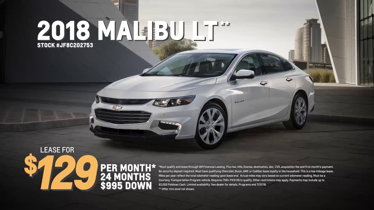 Chevrolet Lease Deals >> July S Best Lease Deals Chevrolet Equinox Chevrolet Malibu
