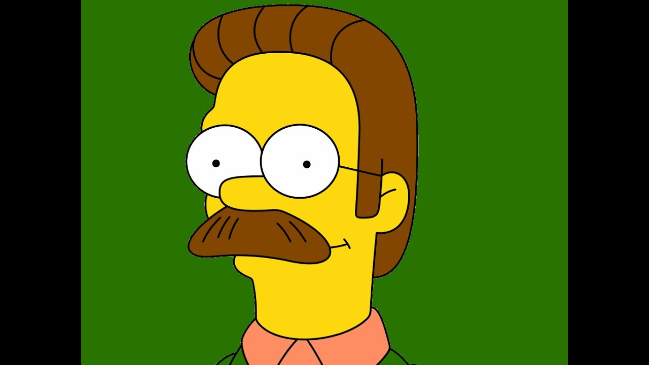 Moustache Wallpaper Hd The Simpsons Death Of Ned Flanders Hd Youtube