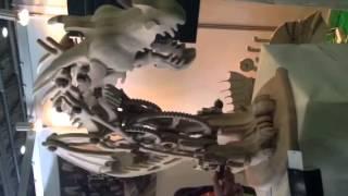 #medgadgetsru: Механические динозавры на фестивале #makeitshow. Осторожно! =)