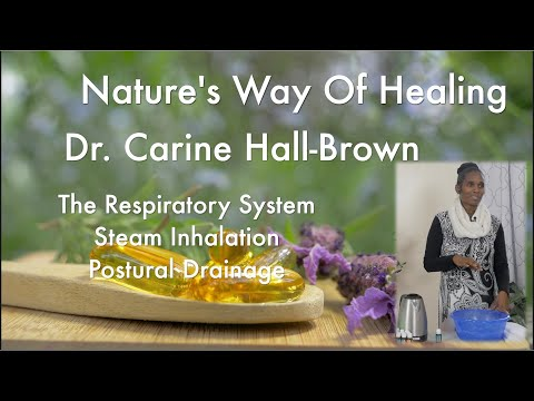 The Respiratory System: Steam Inhalation & Postural Drainage Therapy Part 2