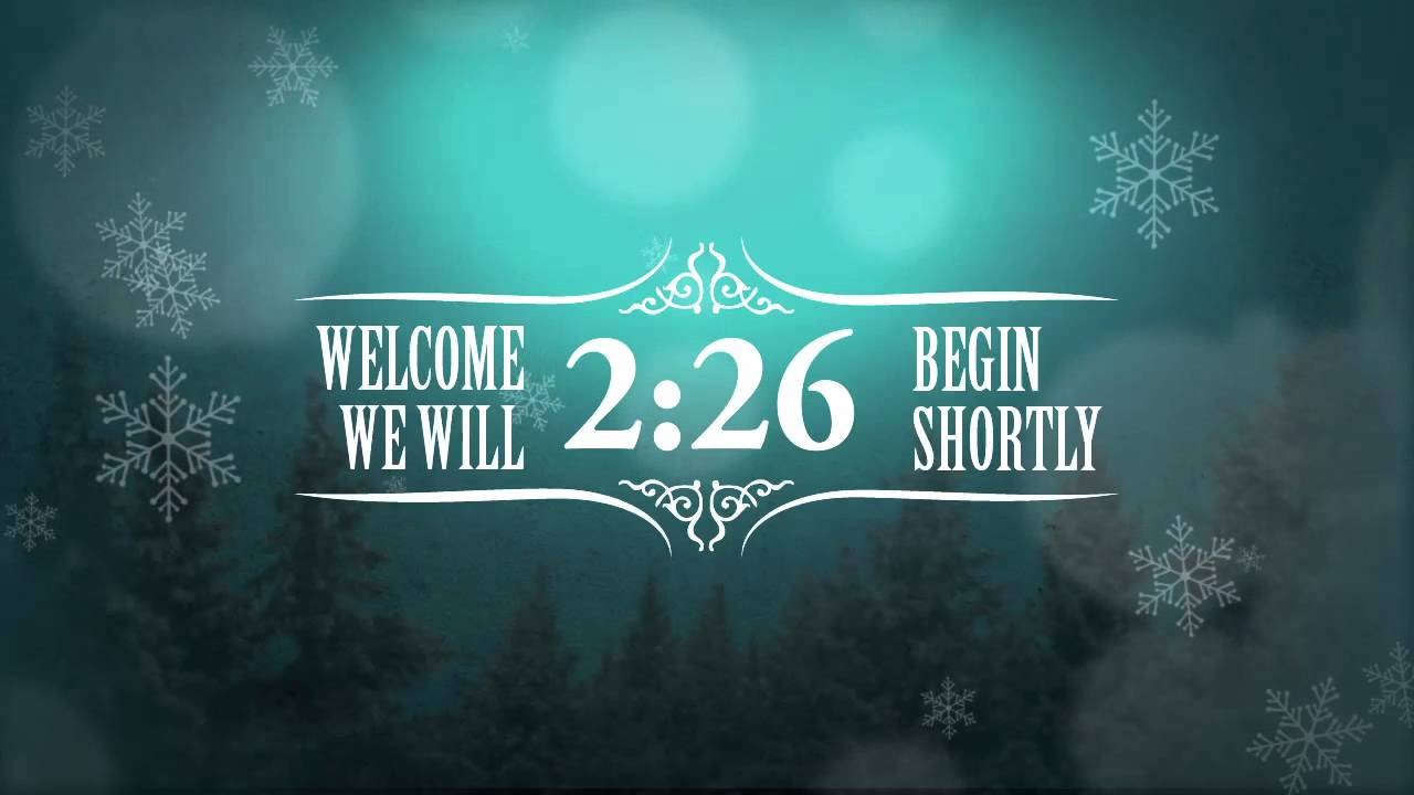 Free christmas event countdown video blue background - How to make a countdown your wallpaper ...