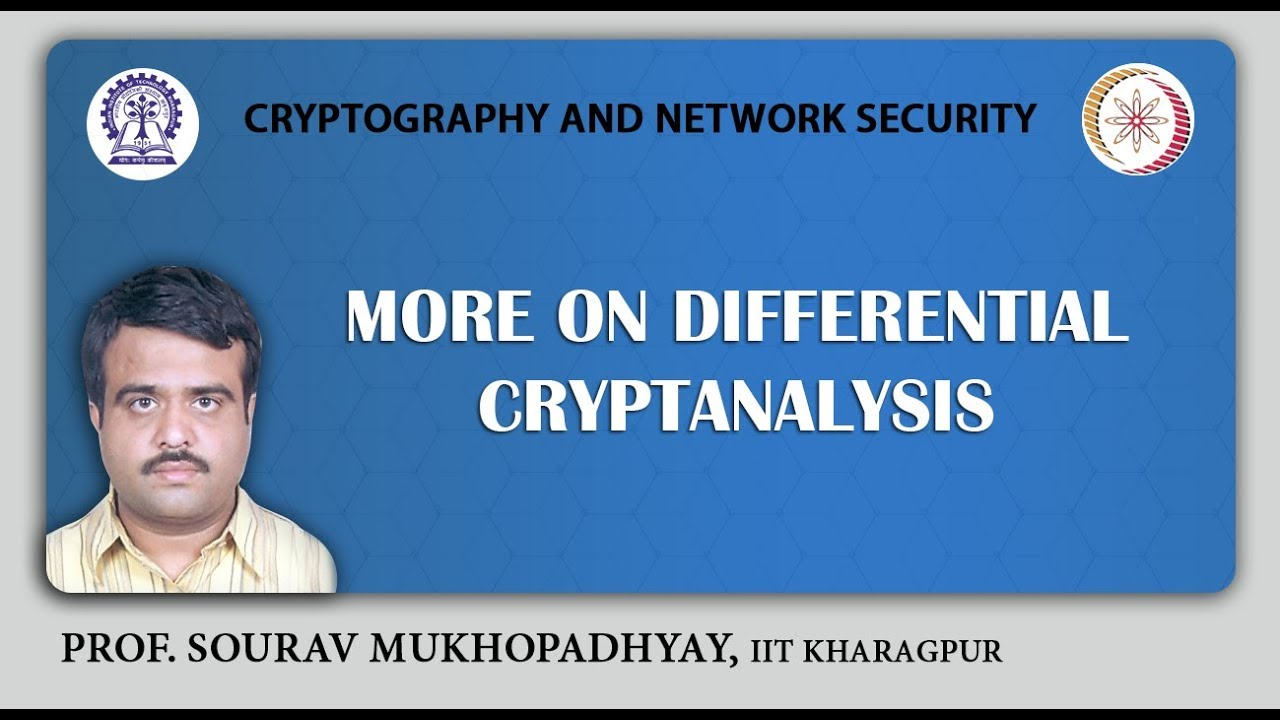 NPTEL :: Computer Science and Engineering - NOC:Cryptography