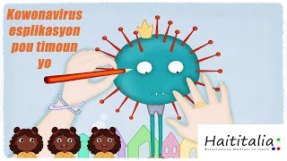 Kowonavirus Esplikasyon pou timoun yo - Haititalia - 2020